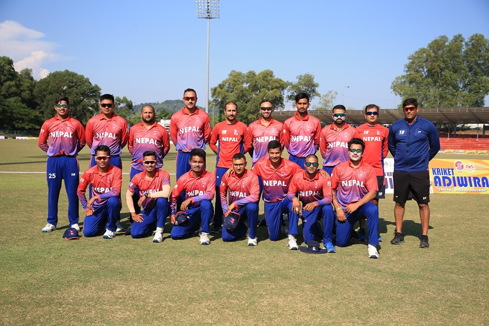 Nepal Vs Malaysia । Nepal Wins Again In The Second T-20