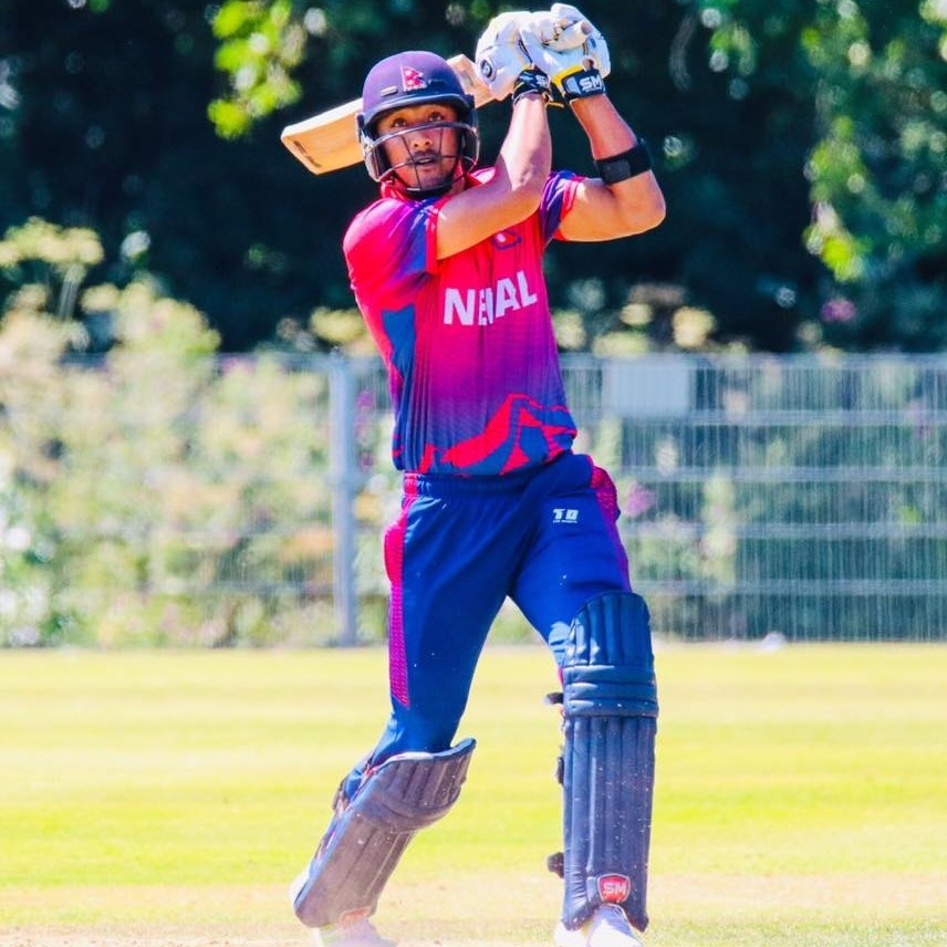 Brilliant Inning By Paras Helped Nepal For 1-0 Lead