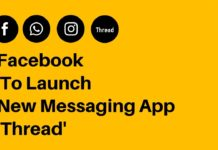 Facebook To Launch New Messaging App 'Thread'