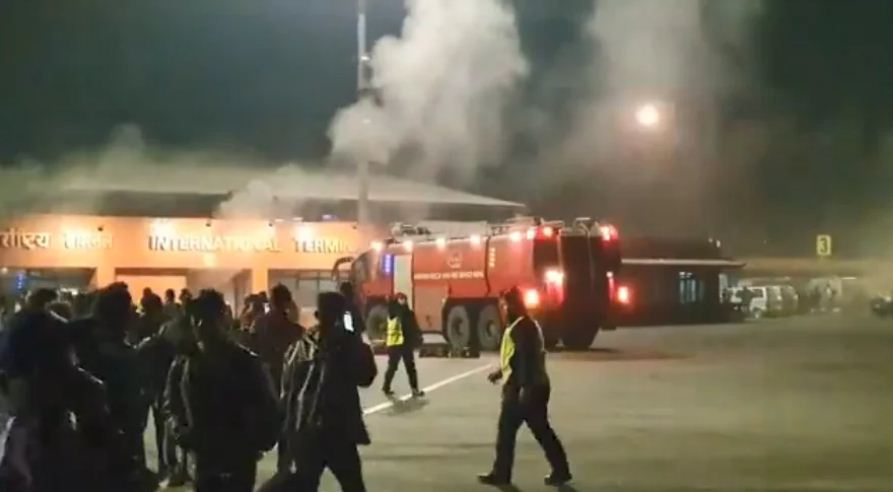Flights On Hold After TIA Coffee Shop Catches Fire