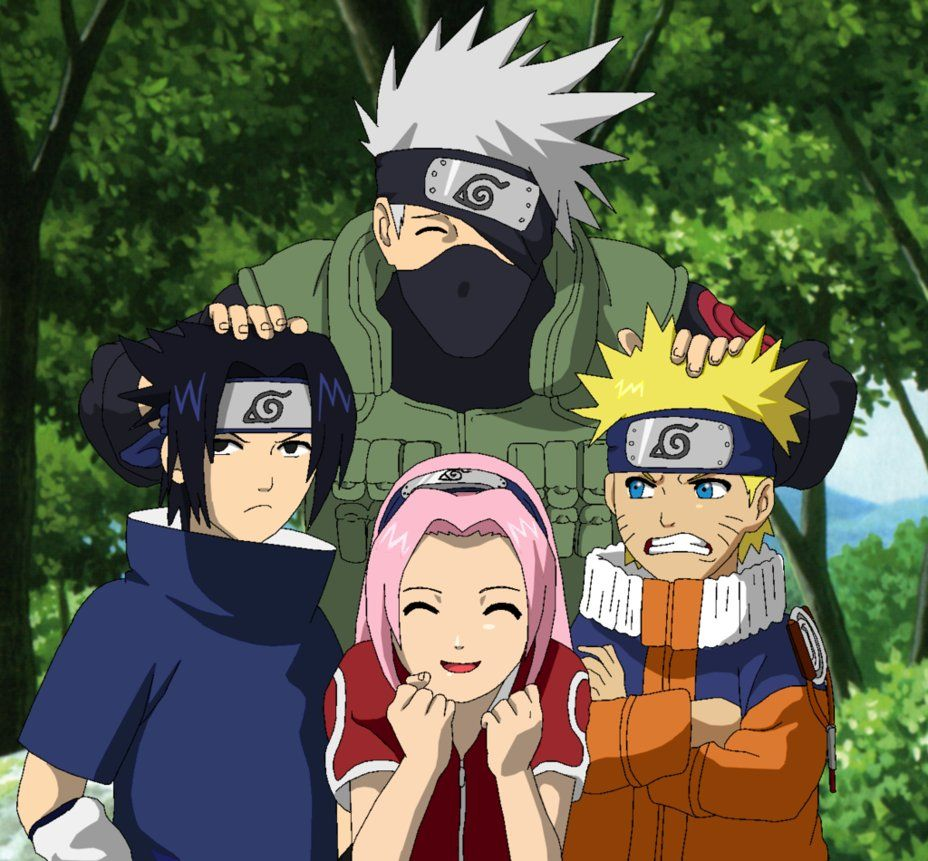 team 7 in naruto