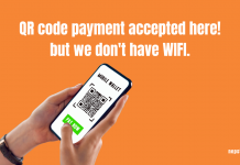 Scan to pay available! but use your mobile data: Digital Payment in Nepal